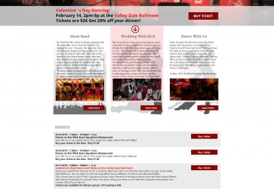 webdesign-Rick Brunetto Big Band